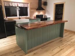 comptoir cuisine bois comptoir de cuisine en bois brut appalaches design