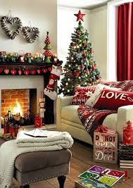 Christmas Home Decor Ideas Pinterest | home decoration how to make a christmas living room pretty designs