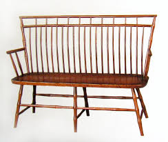 Maple Chairs Birdcage Windsor Bench Solid Hardwood Chairs And Benches Oak