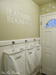 Hanging Pictures On Drywall by Remodelaholic Laundry Room Makeover With Personalized Hanging