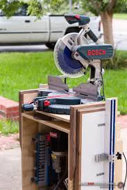 25 best chop saw stand ideas on pinterest mitre saw stand