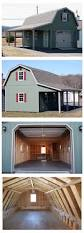 best 25 gambrel roof ideas on pinterest gambrel barn shed the gambrel barn style roof maximizes storage space on the upper level plenty of room inside 8 clearance on the lower level
