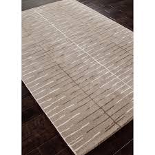 watten modern linear trellis grey wool rug 3 u00276x5 u00276 kathy