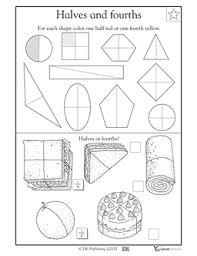 finding 1 2 and 1 4 part 2 homeschool 1st grade pinterest
