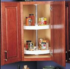 kitchen corner cupboard rotating shelf corner cabinet swivel lazy susan 2 shelf kitchen storage organizer white ebay