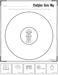 Circle Map Fire Safety Freebie One Sharp Bunch