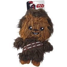star wars chewbacca flattie dog toy petco