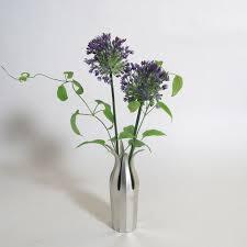 Tin Flower Vases A Pliable Flower Vase That Holds Flowers In Place California