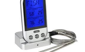 thermometre cuisine pas cher thermomètre à cuisson numérique sans fil pour cuisine barbecue