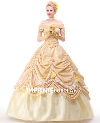 style deluxe princess belle dress cosplay