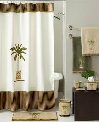 Bathroom Accessory Sets With Shower Curtain by Buying Palm Tree Shower Curtain Beauty Home Decor