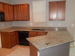 Estimate For Kitchen Cabinets by Kitchen Remodel With Azul Platino Granite And Top Radius Edge