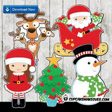 christmas centerpieces printable decorations u2013 instant download