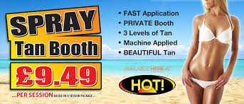 tanning salons sunbeds spray tan and slimming