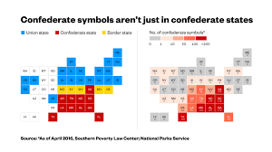 Map Of Confederate States by Confederate Statues Are All Over States That Weren U0027t In The