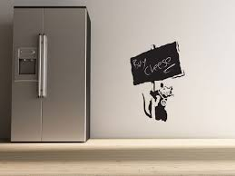 make your home awesome and attractive by banksy wall stickers