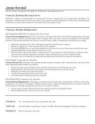 financial consultant resume example with sample service 25