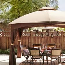 Patio Gazebo Lowes Shop Gazebos Pergolas Canopies At Lowes