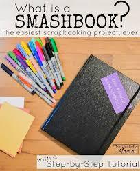 tutorial membuat scrapbook digital smash book step by step tutorial the realistic mama