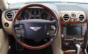 bentley steering wheel 2006 bentley continental flying spur stock be114 for sale near