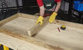 d i y wooden bed frame bunnings warehouse