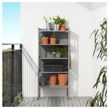 ikea hindo hindö greenhouse cabinet in outdoor grey 63x144 cm ikea