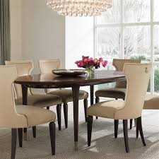 dean hollywood regency oval wooden gold dining table kathy kuo home