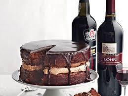 Wine Chocolate Pairing Wine With Chocolate Cake Cooking Light