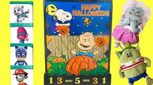 peanuts great pumpkin charlie brown halloween disk drop save