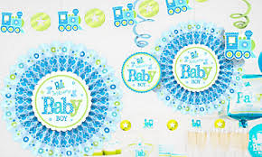 baby shower decorations boys baby shower decorations for boys party city