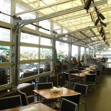 Overhead Door Fargo Aluminum View Glass Garage Doors On Restaurant Overhead