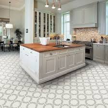 Kitchen Floor Design Kitchen Flooring Ideas With White Cabinets Pertaining To Floor 16