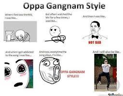 Gangnam Style Meme - oppa gangnam style by le mao meme center
