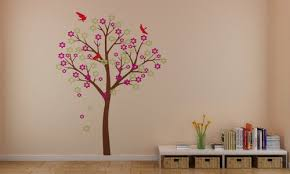 Wallpaper With Birds Home Decorating Images Beautiful Cherry Blossom Tree With Birds
