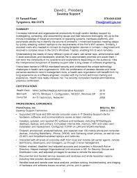 Sample Help Desk Technician Resume Technical Support Analyst Resume Samples Resume For Fresher