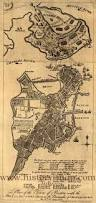 1775 Map Of Boston by Hill Battle Map