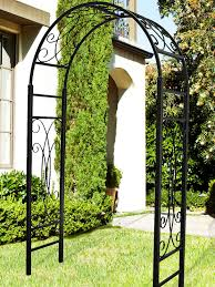 metal garden arbors and trellises garden arbor with gate