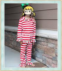 striped boutique pajama family