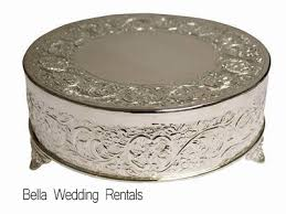 cake stand rental cake stands wedding cake stands silver wedding cake stands