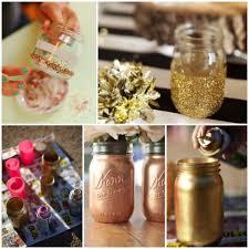 Mason Jar Ideas For Weddings Diy Gold Mason Jars Glitter Inc Glitter Inc
