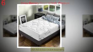 Bed Topper Comparison Of Mattress Best Memory Foam Mattress Top 10 Best Tempurpedic Memory Foam