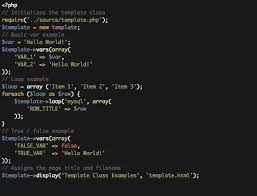 php template class by chrisfitz codecanyon