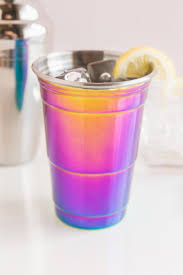 rainbow cocktail rainbow party cup francesca u0027s