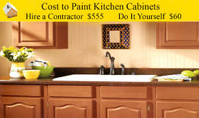 cost to paint kitchen cabinets youtube