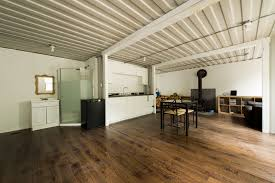 shipping container home interior this amazing shipping container home was built for less than