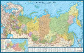New Climate Zones For Russia by Russian Federation Wall Map Easteurope Countries Europe Wall