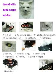 halloween mask festival cosplay furry mask moving mouth mask buy