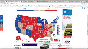 2016 Presidential Map Trump U0027s Chances 2016 Electoral Map 8 10 16 Youtube