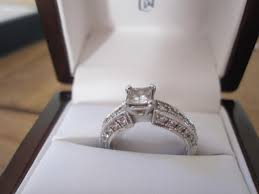 wedding rings in box engagement rings in box on table 1 ifec ci