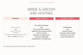 wedding invitation wording sles hosting wedding invitation wording theruntime